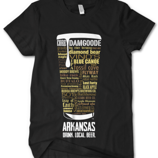 Arkansas State Craft Beer Shirt