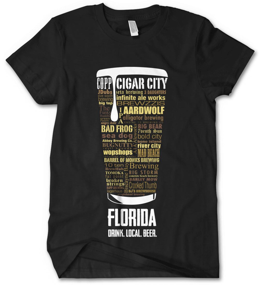 Florida state Custom Craft Beer Shirt