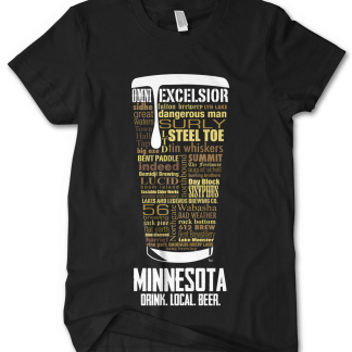 Minnesota state Custom Craft Beer Shirt