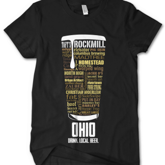 Ohio state Craft Beer Shirt in Black