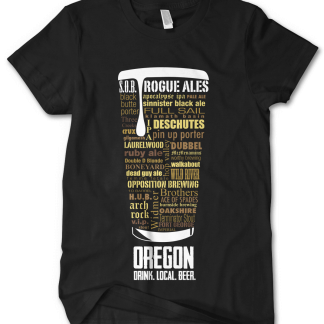 Oregon state Custom Craft Beer Shirt