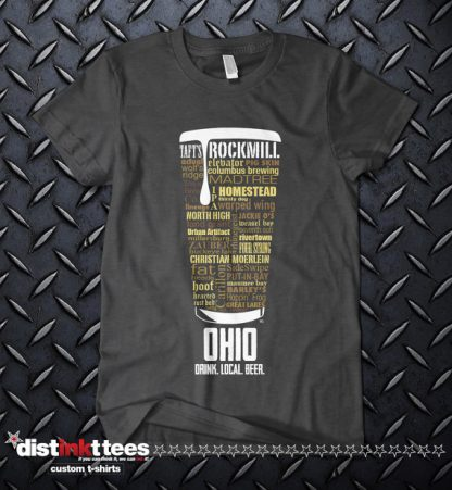 Ohio state Craft Beer Shirt in Dark Heather