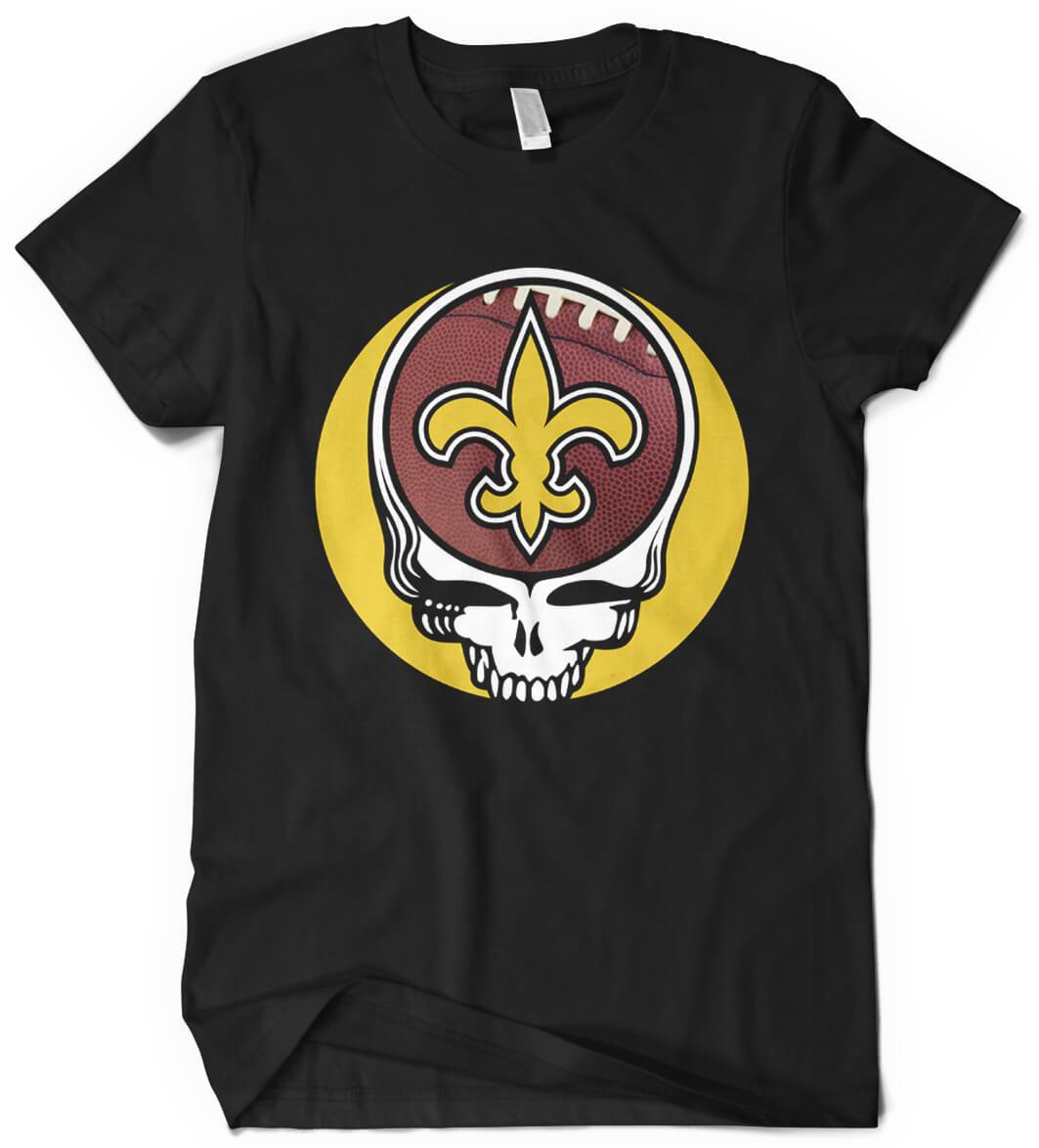 San francisco 49ers grateful dead custom printed t shirt for T shirt printing new orleans
