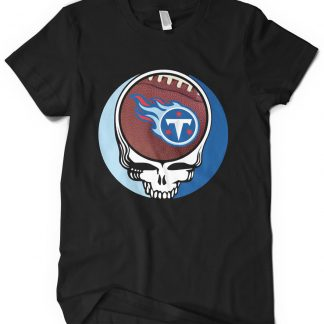 Tennessee Titans Grateful Dead Custom Printed T-Shirt