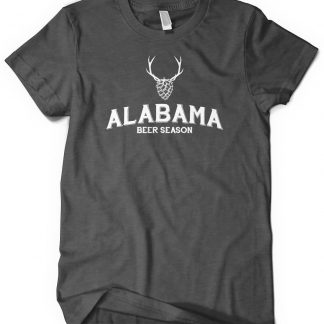 Alabama Beer and Deer Custom T-Shirt