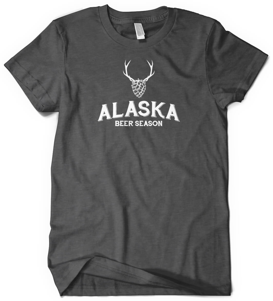 Alaska Beer and Deer Custom T-Shirt