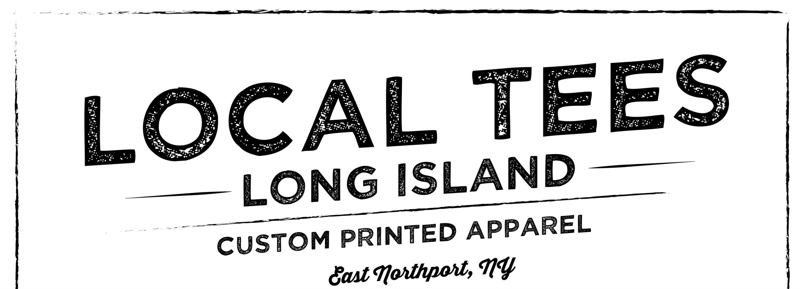 Local Tees Long Island Custom Apparel Logo