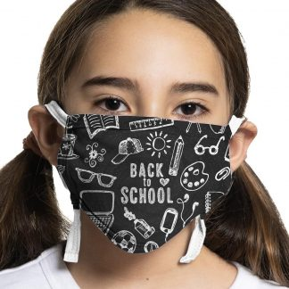 Back to school face mask design