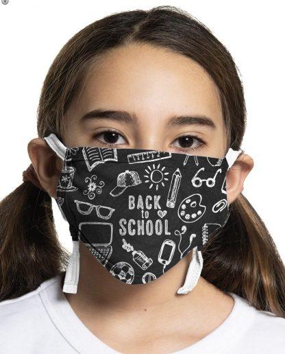 Back to school face mask design