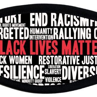 Black Lives Matter protective face mask
