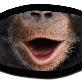 Chimp mouth designed protective face mask