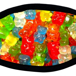 Gummy Bears face mask