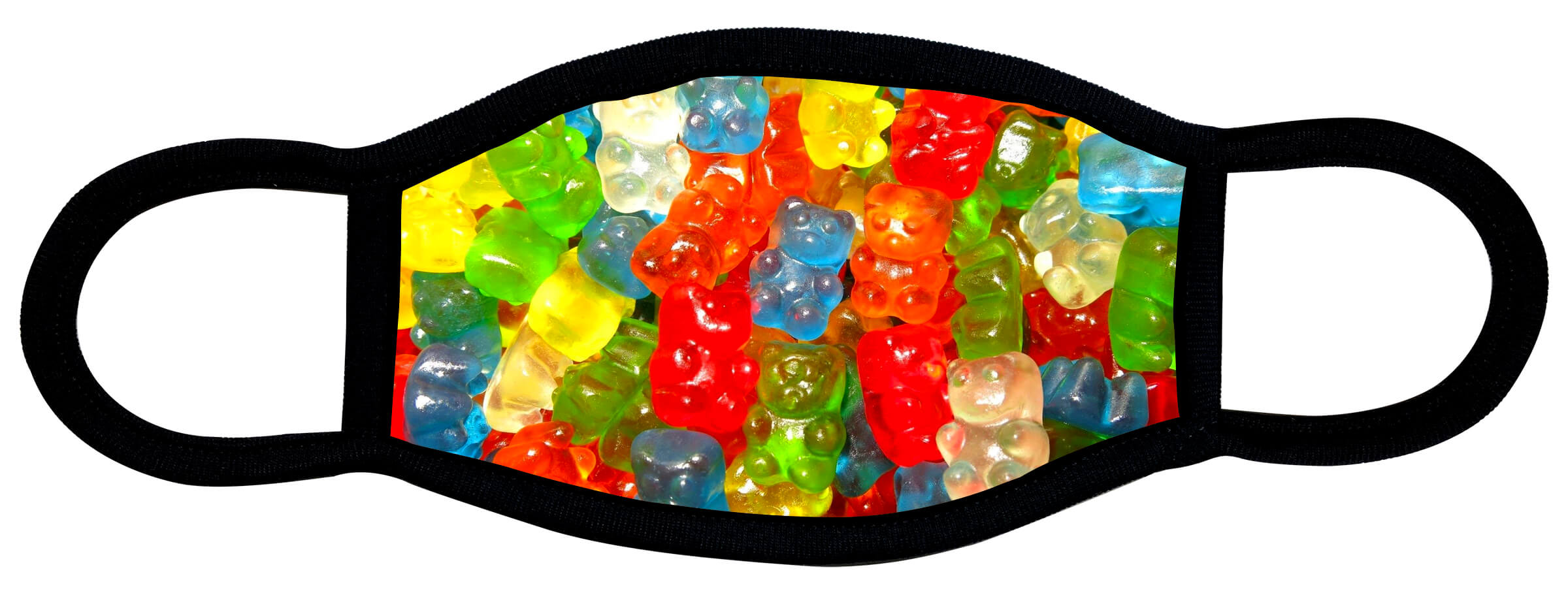 Gummy Bears face mask