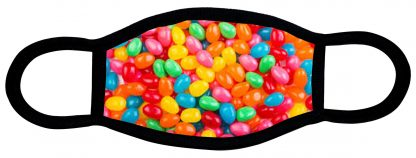 Jelly Beans custom face mask