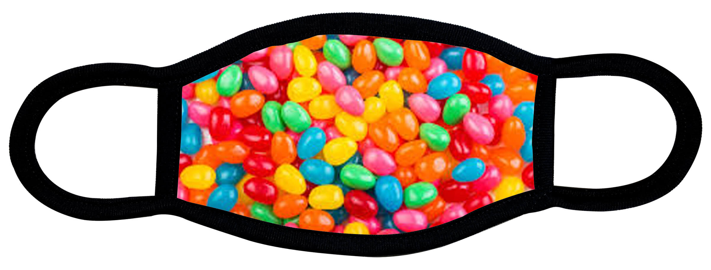 Jelly Beans custom face mask