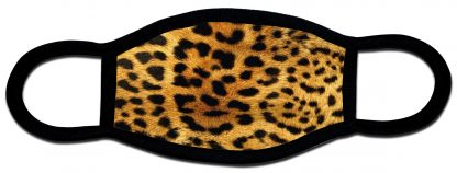 Leopard print custom face mask
