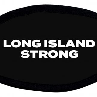 Long Island Strong designed protective face mask