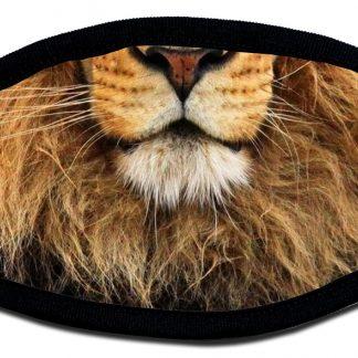 Lion designed custom face mask