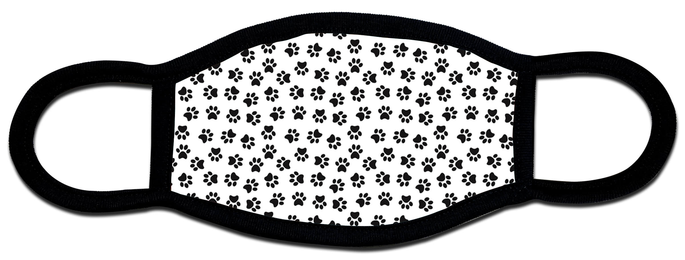Paw Print custom face mask