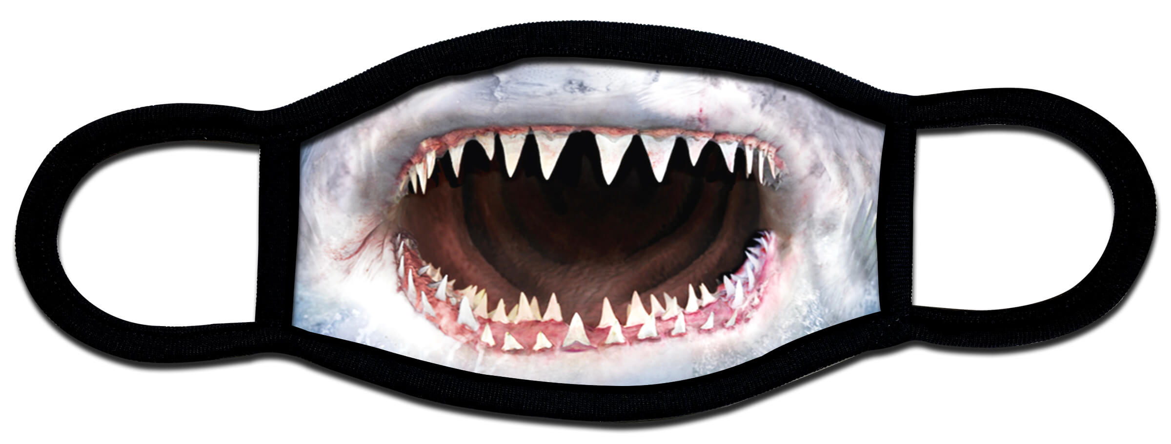 Shark mouth custom protective face mask