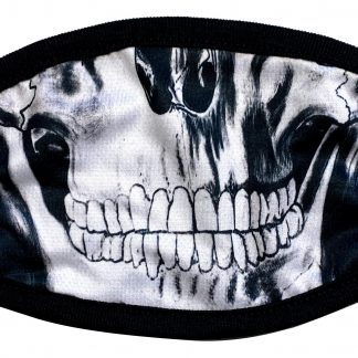 Skull designed custom face mask