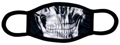 Skull designed custom face mask