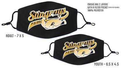 PS 99 Stingrays Custom Face Mask