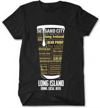 Long Island Craft Beers Custom T-shirt
